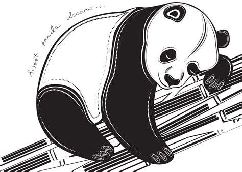 top sleeping panda sketch images  pinterest tattoos