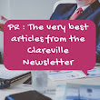 PR : The very best articles from the Clareville Newsletter | TheMarketingblog