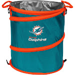 Logo Brands Miami Dolphins Collapsible 3-in-1