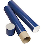 Alvin T420-43 43 in. x 6 in. Indigo Tube Telescope - Blue