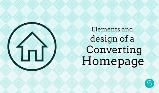 Elements and Design of a Converting Homepage - Sabrina Couto's Blog