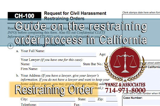 Orange County Restraining Order Attorneys - Yanez & Associates