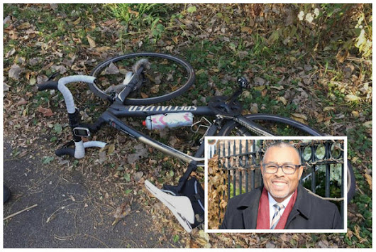 Ald. Brookins Seriously Hurt When Squirrel Jumps In His Bicycle Spokes
