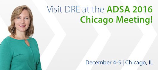 Three Reasons to Visit DRE at ADSA 2016 Chicago Meeting