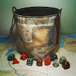 Classic Dungeon Map Dice Bag
