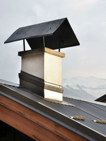 Chimney Crown Deterioration - Chicago IL - Aelite Chimney Specialists