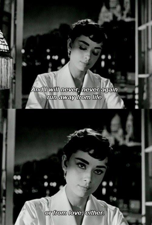 Sabrina 1954 Quote About Run Away Love Life Cq