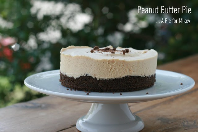 A Pie for Mikey - Peanut Butter Pie