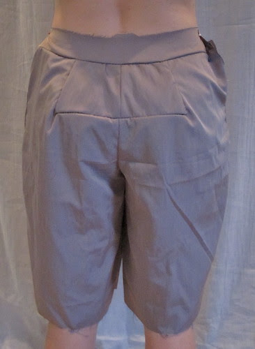 Muslin 3-Back with Shortened Crotch