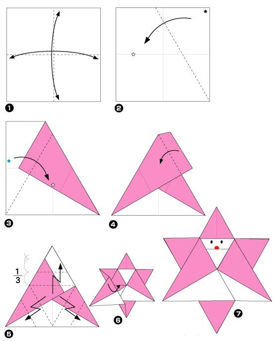 Origami Facile Etoile