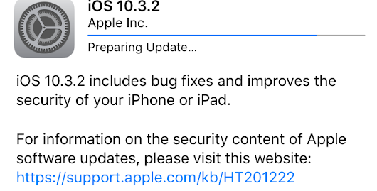 iOS 10.3.2 arrives with nearly two dozen security fixes