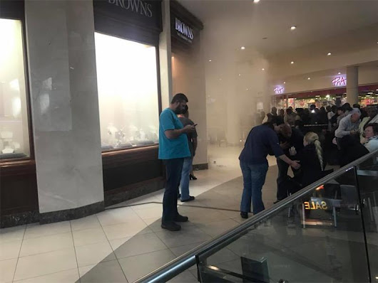 [WATCH] This is what happened during the attempted robbery at Browns Jewellers in Cradlestone | Krugersdorp News
