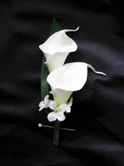 Hair Flower Comb Calla Lily [HCNBCalla] : DebbieCoFlowers