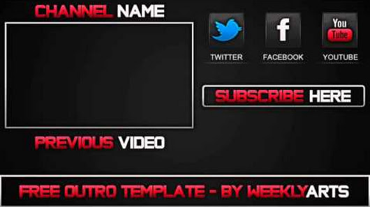 Twodutchdesigners google outro 2 old school outro template after effects maxwellsz