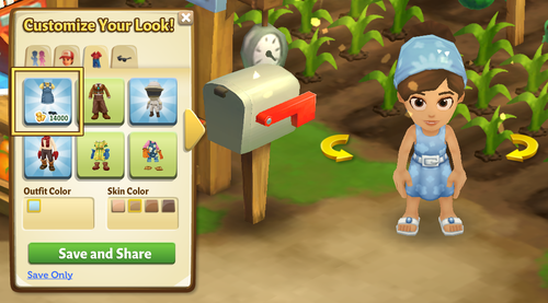 Summer Outfit - FarmVille 2
