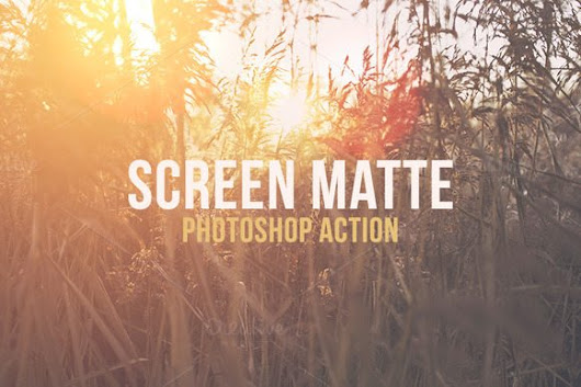Gratis: Screen Mate Action – Photoshop Aktionen
