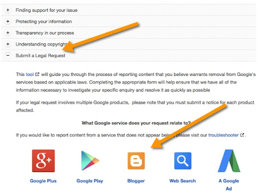 Bloggers Guide to Report Copied Content to Google & Get it Removed