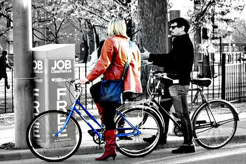 6057 Saturday pedestrian pause