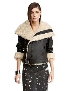 Rachel Rachel Roy Aries Leather Jacket