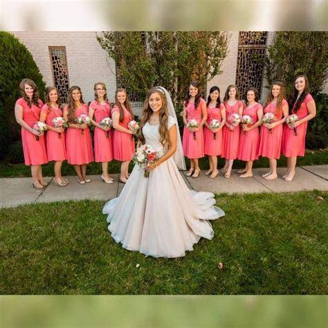 Jessa Duggar and her bridesmaids   Duggars, Bates
