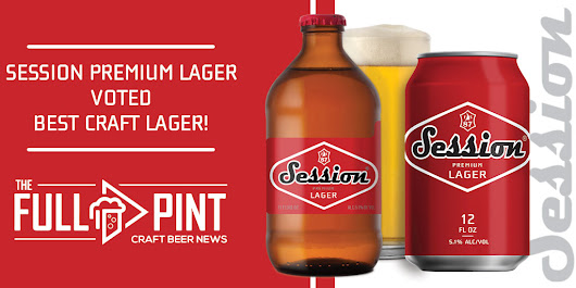 Session Premium Lager Voted Best Craft Lager - Full Sail Brewery