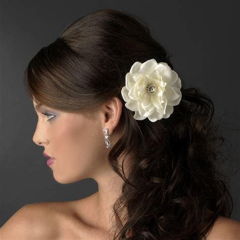 Clip 433 Antique Medium Jeweled Gardenias in Ivory or