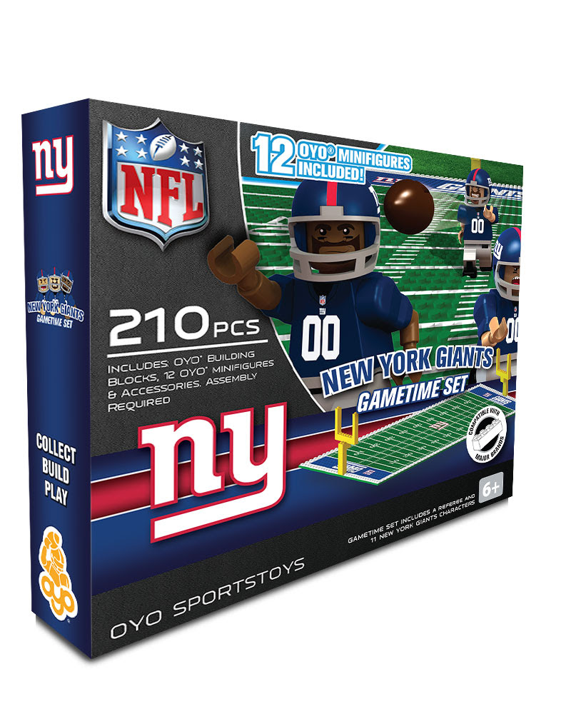 OYO Sports  National Football League Game Time Set  New York Giants
