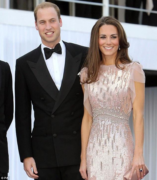 Sorriso perfeito: Em julho, a Duquesa de Cambridge dentes parecia impecável, assim como de seu marido