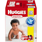 Huggies Snug and Dry Diapers, Size 3 (16-28 lbs) - 132 count