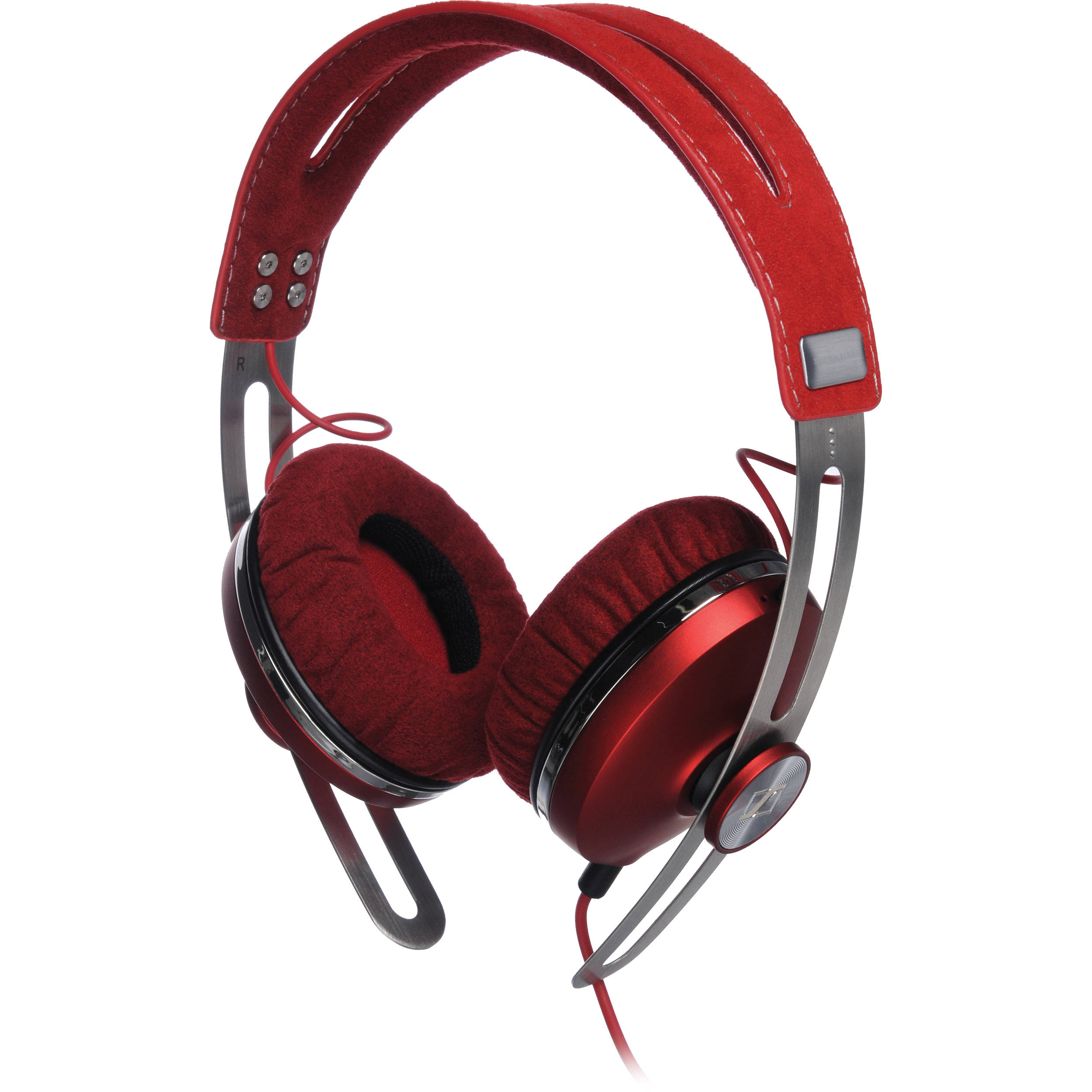 Sennheiser Momentum On-Ear Headphones (Red) 505993 B&H Photo