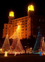 Arlington Hotel, at Christmas