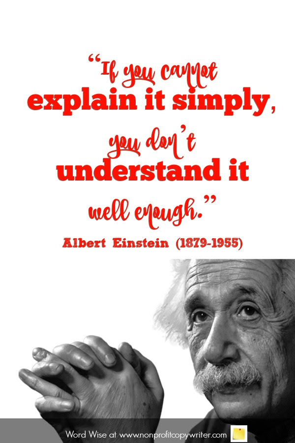 Quotes About Simplicity For Copywriters And Nonprofit Leaders