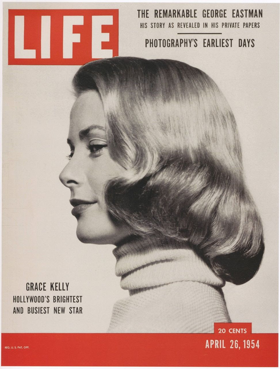 """Image result for Grace Kelly was on the cover of """"LIFE"""" magazine."""