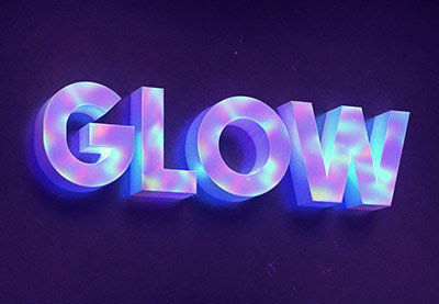 How to Create a 3D Hologram-Inspired Text Effect in Adobe Photoshop
