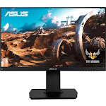 "ASUS - TUF Gaming 23.8"" IPS LED FHD FreeSync Monitor - Black"