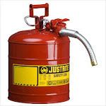 Justrite 400-7250130 5G-19L Iiaf Red 1 Inch Hose