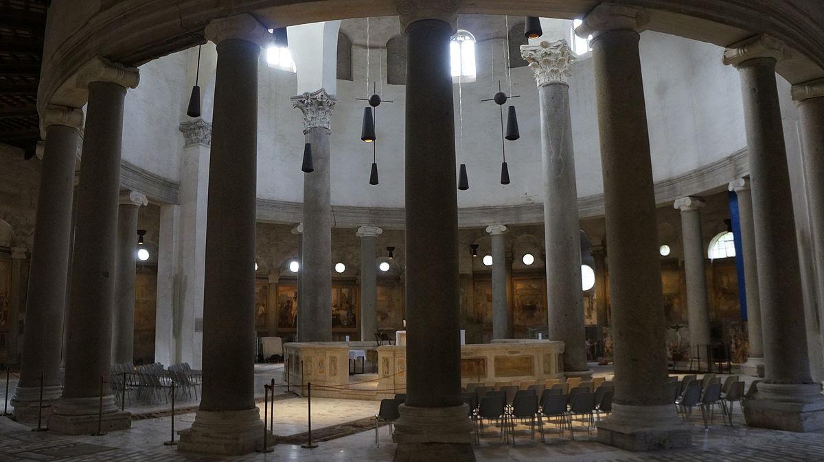 File:Interior de la Iglesia de Santo Stefano Rotondo.JPG
