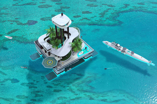 Luxury private islands that can float anywhere set to launch  | Travel News | Cheap UK Holidays, Luxury Breaks & More | Daily Star