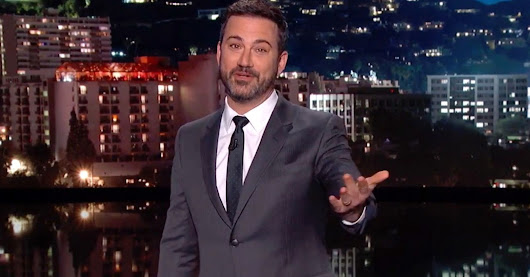 Jimmy Kimmel Slams GOP With The Least Sincere Apology Ever