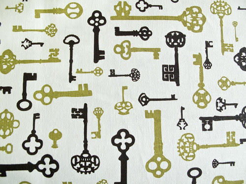 Antique Keys Olive Choc