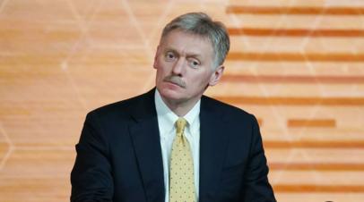 Песков прокомментировал возможность заграничных поездок Путина