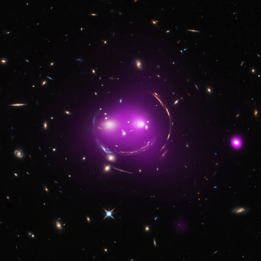 "The ""Cheshire Cat"" group of galaxies ."