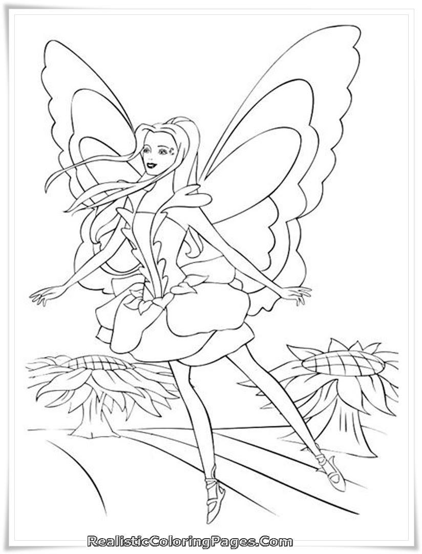 Mewarnai Barbie Fairytopia Auto Electrical Wiring Diagram