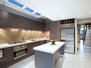 Modern galley kitchen design using stainless steel - Kitchen Photo ...