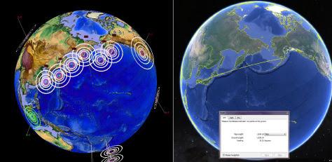 Ligne mystérieuse des tremblements de terre entre le Japon et l'Alaska Progrès à travers de vastes sur un temps court, ligne Mysterious des tremblements de terre entre le Japon et l'Alaska prouve que les tremblements de terre ne progressent dans de vastes régions, et sont liés les uns aux autres.  Bizarrerie géologique !, tremblements de terre progressent sur de vastes zones plus court laps de temps, la progression du tremblement de terre, la progression du tremblement de terre de 2015, la progression du tremblement de terre au Japon alaska 2015, la ligne de tremblement de terre 2015, ligne de séisme au Japon à l'Alaska 2015, la progression du tremblement de terre au Japon Alaska 2015, Bizarre ligne de tremblements de terre Progresser à travers un vaste zone pendant un temps court