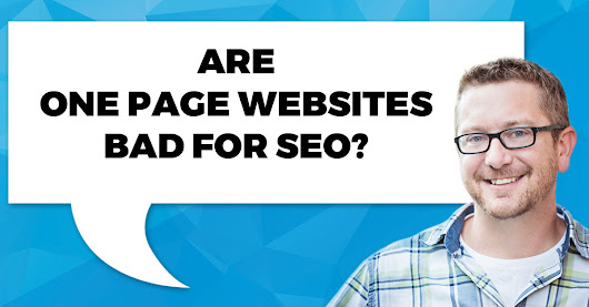 Single Page Websites | Bad News For SEO? - Fuel Your Photos