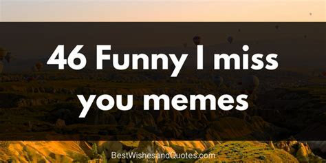 Cool and Funny I Miss You Memes for Your Dear Partner