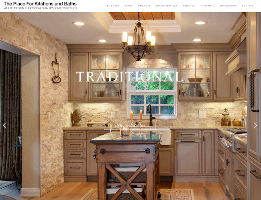 Newly Launched Website - The Place For Kitchens and Baths