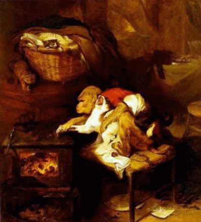 The Cats Paw by Edwin Landseer