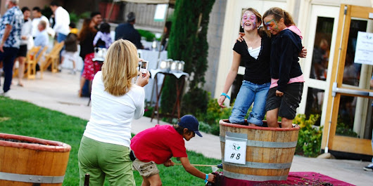 From the Cul de Sac: Grape Stomp the Yard